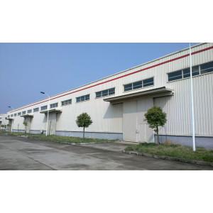 Edificio prefabricado de la estructura de acero de la luz de la fábrica de la construcción para el almacén