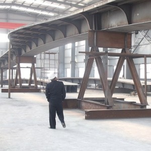 Metal steel bridge steel structure railway bridge /Metal structure bridge/landscape steel structure bridge