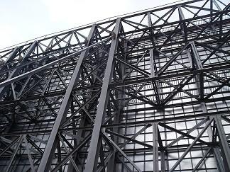 大型户外精美广告牌钢结构的定制设计