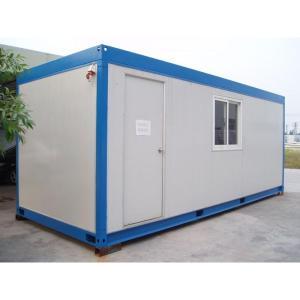移动模块化预制钢框架集装箱房/便携式预制集装箱房别墅办公室