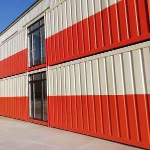 Mobiles modulares Stahlrahmen-Containerhaus mit mehreren Umgebungsbedingungen