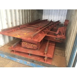 Steel sleepers are suitable for Small traction equipment track