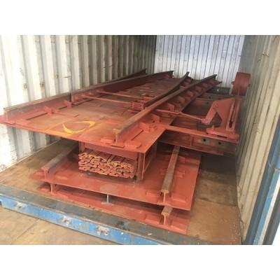 钢轨枕适用于小型牵引设备轨道