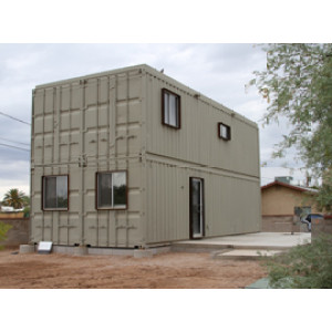 Mobile modular prefab  steel frame container house /Portable prefab container house for villa office home