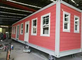 定制绿色环保抗震移动式集装箱房