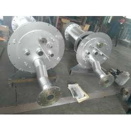 Componentes de combustión de calderas marinas de alta eficiencia térmica