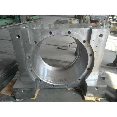 铸造精密加工大型耐用铸钢轴承座