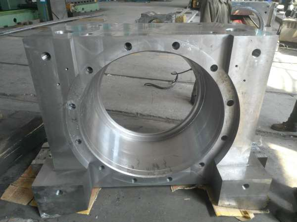 Casting precision machining large durable Cast steel bearing pedestal