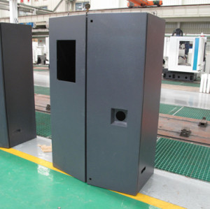 Customized processing parts electrical cabinet/Laser cutting,/blanking and bending forming