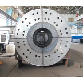 Cubierta de ventilador marino de acero inoxidable de corte láser