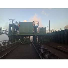 High-efficiency Furnace top smoke guide truck for coke oven