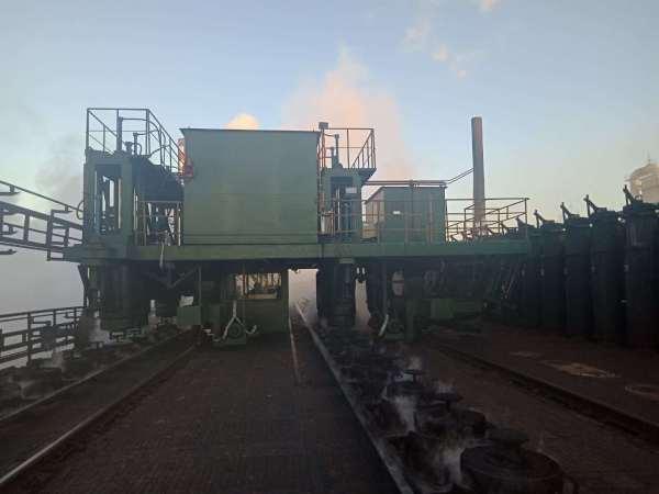 省エネと環境保護のためのコークス炉用の炉頂煙ガイドトラック
