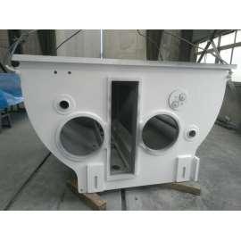 Laserschneiden und Schweißen Verarbeitung Komponenten der Brennerausrüstung