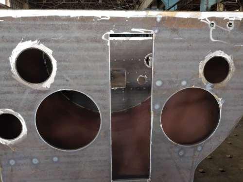 激光切割焊接加工燃烧器设备部件
