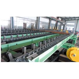 Transportador de riel de rodillos rodantes para el procesamiento de soldadura de maquinaria minera