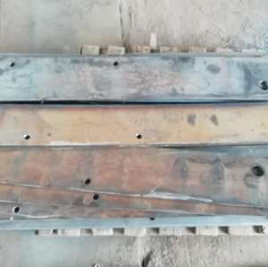 Customized Marine hardware/Wharf transition plate/Connecting rubber chord plate of coastal wharf