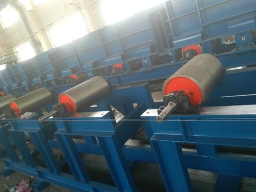 多品种共线分流输送机滚筒带式输送机