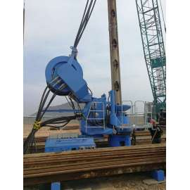 Energy-saving and efficient engineering equipment Static pressure pile driver