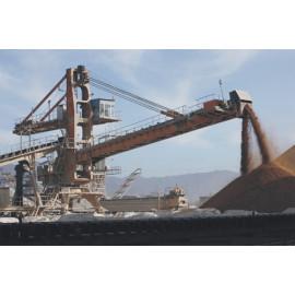 Equipo de transporte de material mineral a gran escala utilizado en las industrias de minería y metalurgia