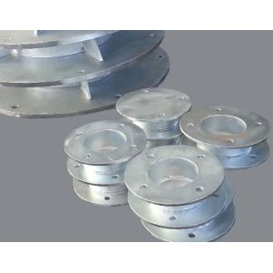 Customized steel flange plate