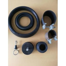 Large supply of high elastic industrial rubber shock absorbers