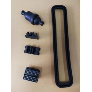 Junta amortiguadora de goma para amortiguación de equipos, absorción de impactos y prevención de polvo
