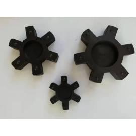 Mecanizado almohadilla de protección de goma hexagonal resistente a la corrosión personalizada