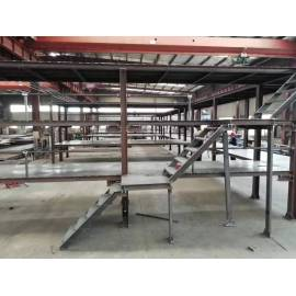 Material arrangement steel frame for factory warehouse
