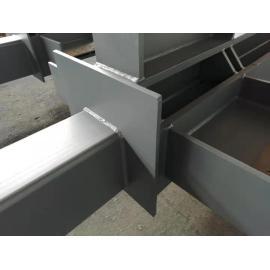 Kundenspezifisch ab Werk geschweißte Stahlsäulen und -träger