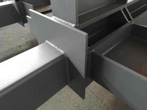 定制工厂可用的钢结构焊接柱和梁