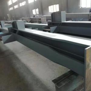 Kundenspezifische Ausrüstungsplattform, Schweißstahlsäule der Fabrikwerkstatt