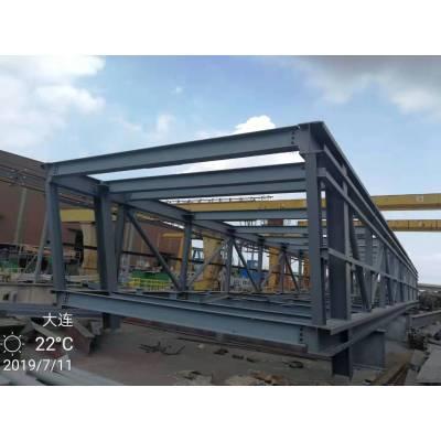 生产设计硬度大承载力强的钢制输煤栈桥