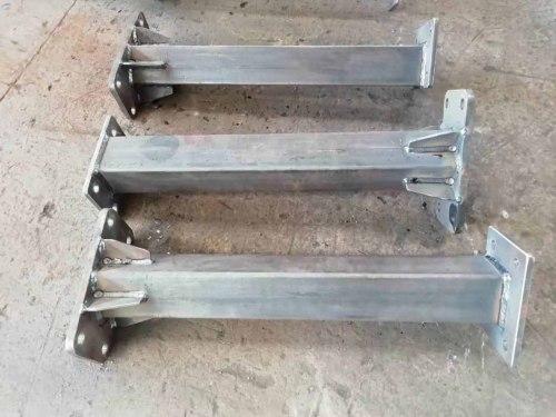 Provide various sizes of welded Steel column, steel structure connectors