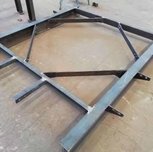 Stahlkonstruktion Geräteträgerteile in verschiedenen Branchen erhältlich