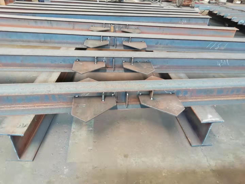 Genietete Stahlkonstruktion