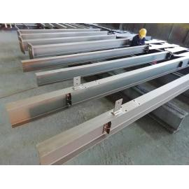 High-hardness steel columns and beams of factory-customized equipment platform components
