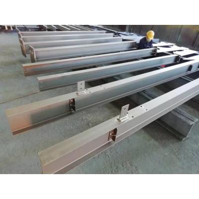 工厂定制设备平台组件的高硬度钢柱和梁
