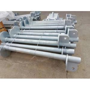 Estructura de acero fija de las barras colgantes utilizadas para la instalación en campo