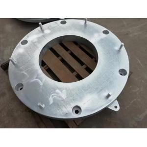 Galvanized flange, used for pipe connection, wharf fender component, equipment connection component