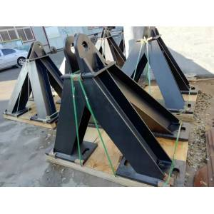 Personalice la base de soporte de estructura de acero disponible de The Wharf
