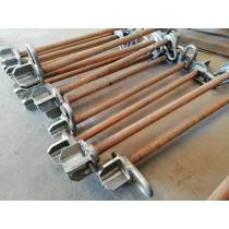 Fixed Steel Structure Of The Hanging Bars Used For Field Installation