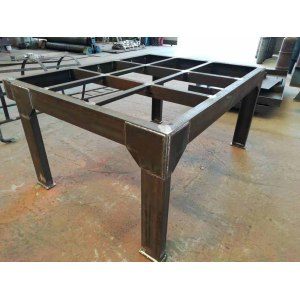 High quality multifunctional Steel structure worktable, suitable for workshop, equipment and warehouse