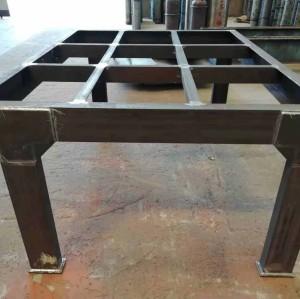Hochwertiger multifunktionaler Arbeitstisch mit Stahlkonstruktion, geeignet für Werkstatt, Ausrüstung und Lager