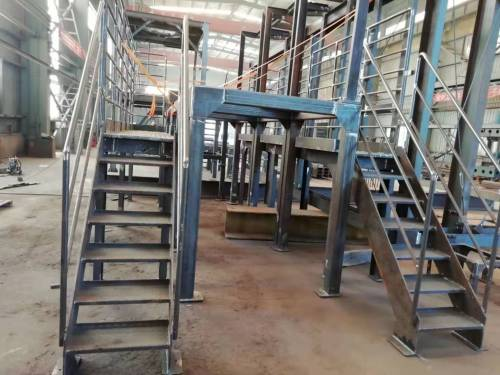 专业建造工程化工设备钢结构工作架台