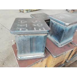 Fabricación profesional de fuerte capacidad de carga de columna de conexión de marco de acero soldado