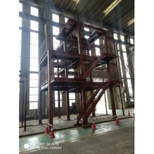 Multi - industry steel structure engineering equipment rack for Japanese customers