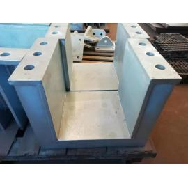 Design and production of integrated large-scale steel structural parts can be Steel mounting plate