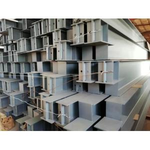Steel frame beams and columns are constructed with concrete casting of various cross section shapes