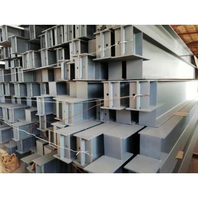 Stahlrahmenbalken und -säulen werden durch Betonieren mit verschiedenen Querschnittsformen hergestellt