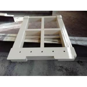 Construcción profesional de control de equipos de procesamiento de soldadura y remachado Pasarela de acero